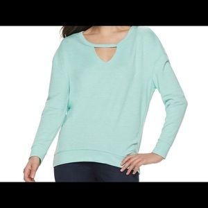 Juicy Couture Cut Out Sweatshirt